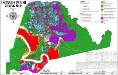 "<span style=""text-align: -webkit-center;"">Ascension Parish Zoning Map </span>"