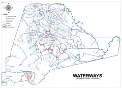 "<span style=""text-align: -webkit-center;"">This map shows the waterways throughout the parish.</span>"